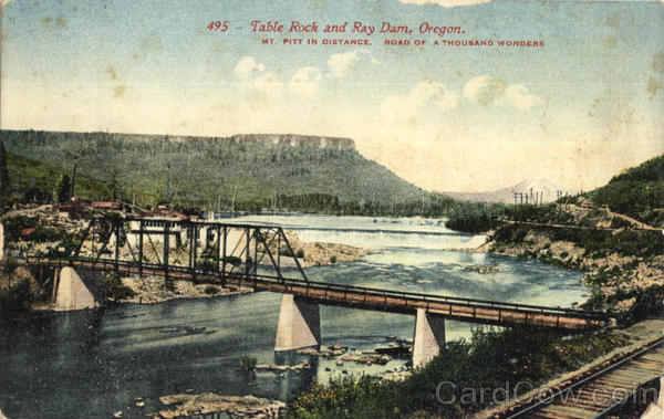 Table Rock And Ray Dam Scenic Oregon