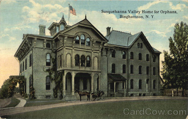 Susquehanna Valley Home For Orphans Binghamton New York