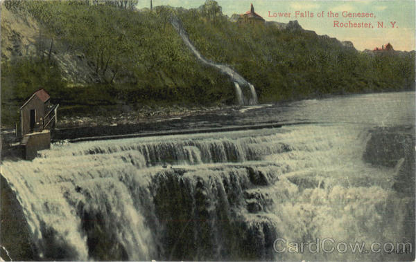 Lower Falls Of The Genesee Rochester New York