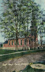 Saint Mary's Church Postcard