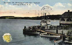 Steamers Mt. Washington And Gov. Endicott Arriving At Weirs
