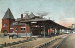 Lehigh Valley R. R. Station
