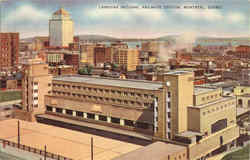 Canadian National Railways Station Montreal Postcard