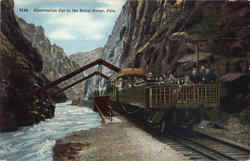 Observation Car In The Royal Gorge