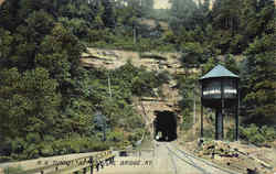 R. R. Tunnel At Natural Bridge