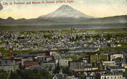 City Of Portland & Mount St. Helens