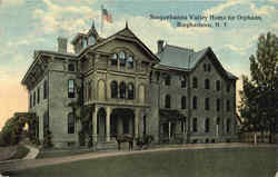 Susquehanna Valley Home For Orphans Postcard
