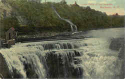 Lower Falls Of The Genesee