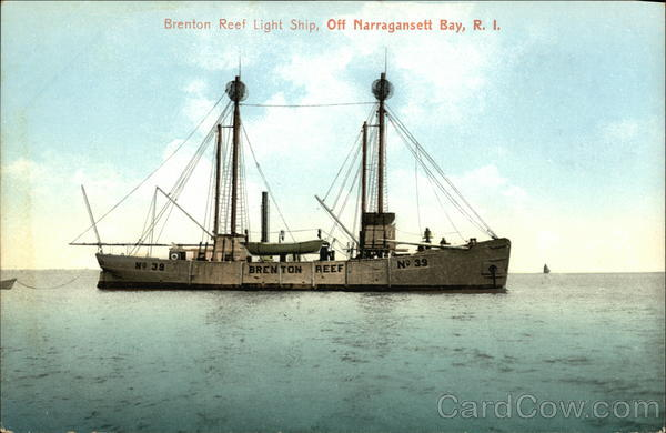 Brenton Reef Light Ship, Off Narragansett Bay, R.I