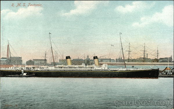 RMS Teutonic on the Water Boats, Ships