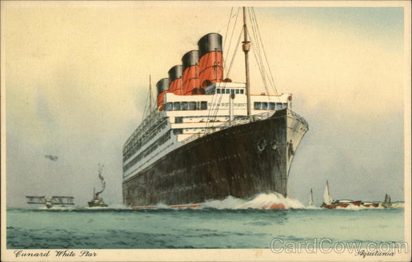Cunard White Star Boats, Ships