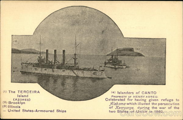 United States Armoured Ships Boats, Ships