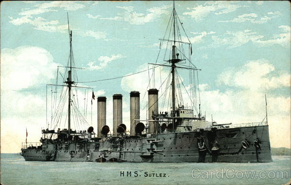 H.M.S. Sutlez Boats, Ships