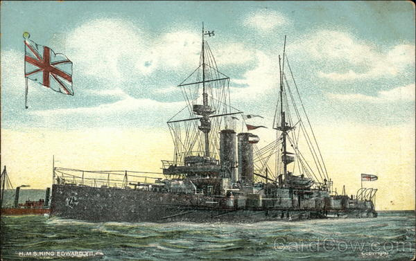 HMS King Edward XII on the Water Boats, Ships