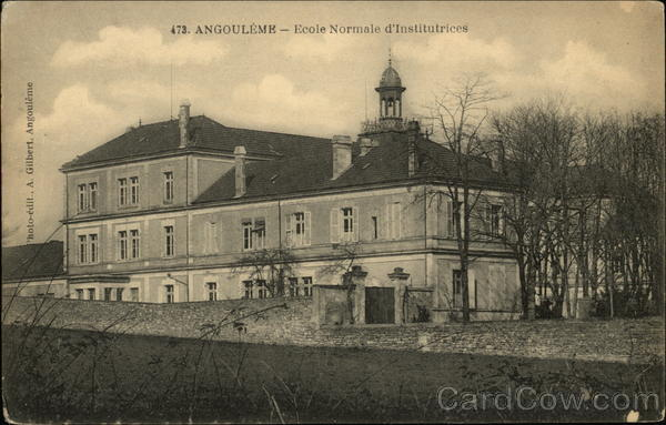 Ecole Normale d'Institutrices Angouleme France