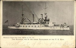 The Kearsage, One of the Finest Battleships of the U.S. Navy