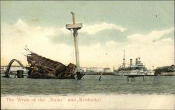 "The Wreck of the ""Maine"" and ""Kentucky"""