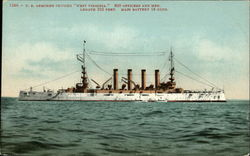 "U.S. armored cruiser ""West Virginia"""