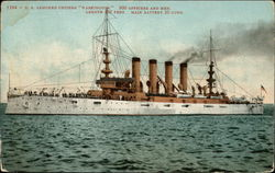 "1284 - U. S. armored cruiser ""Washington"""