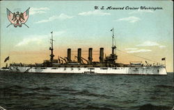 US Armored Cruiser Washington