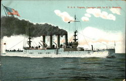 USS Virginia on the Water