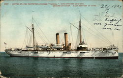 "US Protected Cruiser ""Tacoma"""