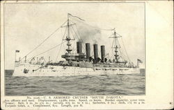 "U.S. Armored Cruiser, ""South Dakota"""