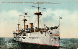 "1312 - U. S. protected cruiser ""San Francisco"""