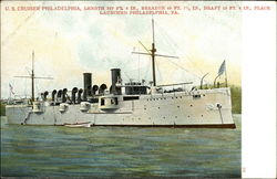 US Cruiser Philadelphia