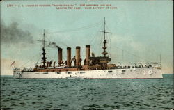 "US Armored Cruiser, ""Pennsylvania"""