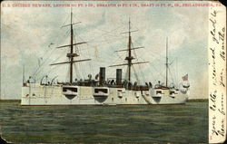 "US Cruiser ""Newark"""