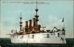 "US Armored Cruiser ""New York"""
