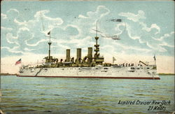Armored Cruiser New York, 21 Knots