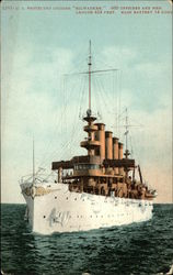 "US Protected Cruiser ""Milwaukee"""