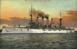 "US Armored Cruiser ""Colorado"""