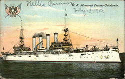 "U.S. Armored Cruiser ""California"""