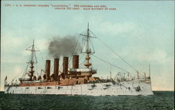 "1291 - U. S. armored cruiser ""California"""