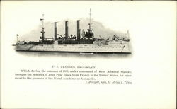 U. S. Cruiser Brooklyn