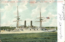 "US Cruiser ""Boston"""