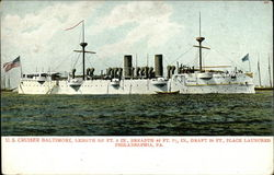 U.S. cruiser Baltimore