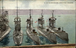 US Submarines Awaiting Orders