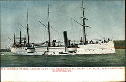 US Gunboat Petrel
