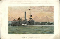 "Monitor ""Florida"", Broadside"