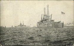 Pacific Coast Fleet, United States Navy