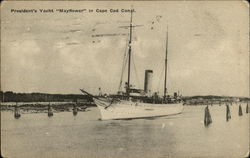 President's Yacht Mayflower in Cape Cod Coast