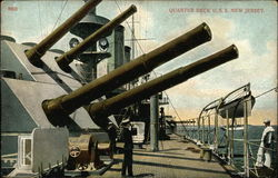 8603 - Quarter deck U.S.S. New Jersey