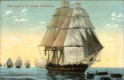 The Flight of the Frigate Constitution (Old Ironside)