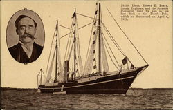 Leiut. Robert E. Peary, Arctic Explorer and the Steamer Roosevelt