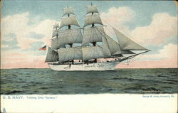 "US Navy, Training Ship ""Severn"""