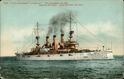 "US Battleship ""Louisiana"""